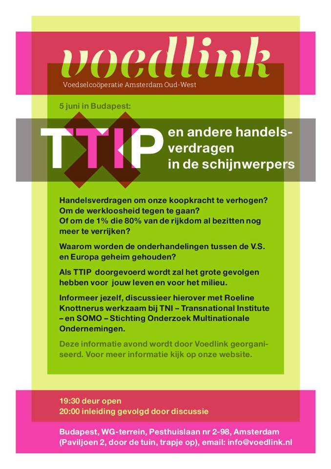 TTIP en andere handelsverdragen in de schijnwerper